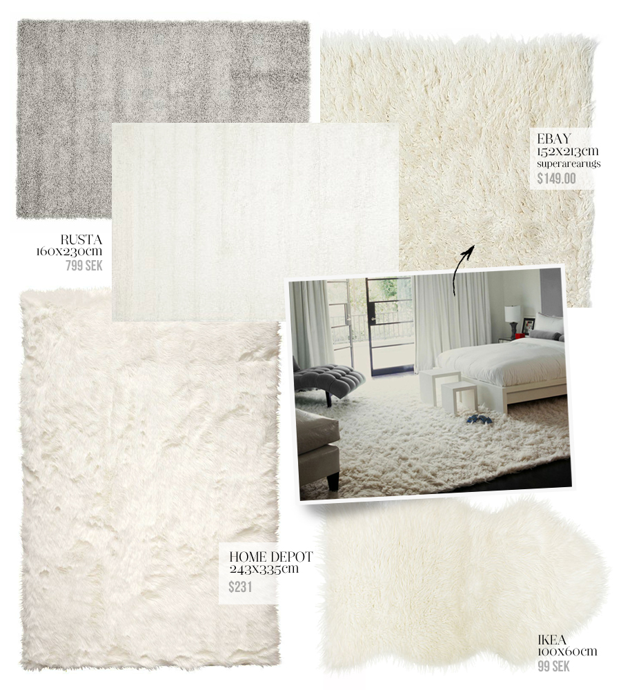 fluffy rugs